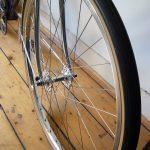 650b front wheel, VO Diagonale rim, Aby-K hub, Grand Bois Cypres